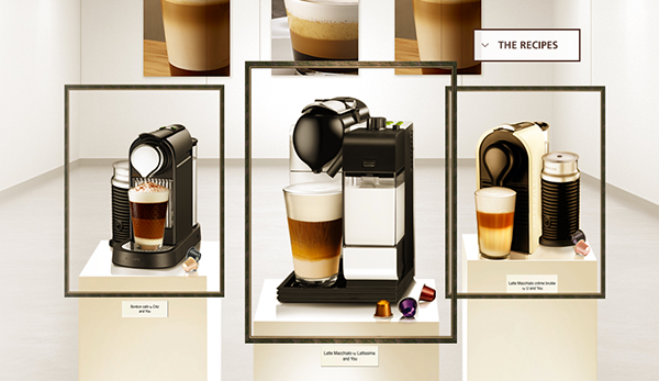 NESPRESSO - The Art Of Coffee & Milk