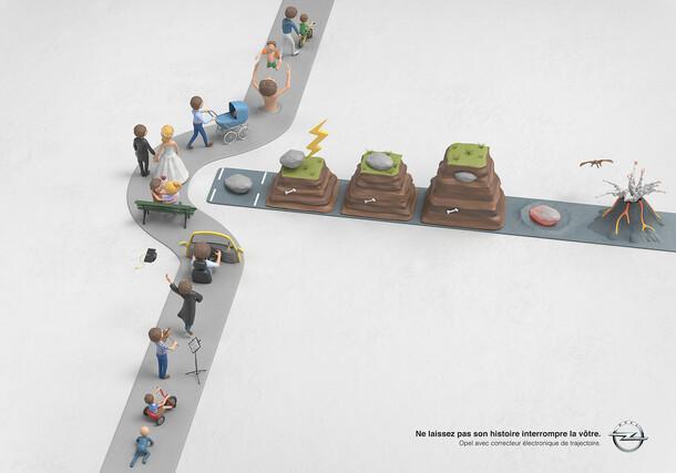 Opel / Trajectoires