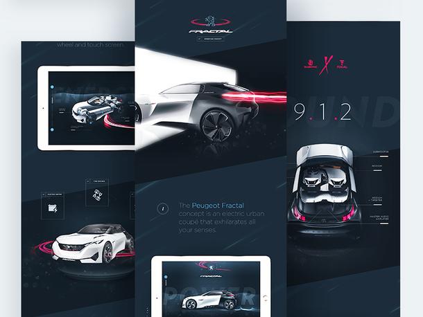 Peugeot™ Fractale