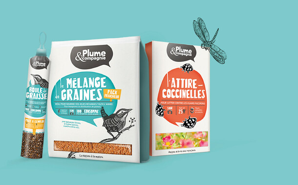 Plume & Compagnie - Branding, Packaging