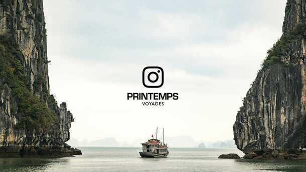 Printemps Voyages ● Instagram