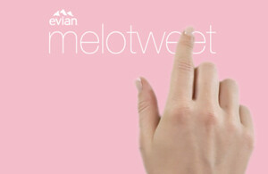 Evian - Melotweet