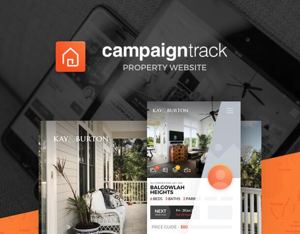 Site internet de propriété immobilière pour agent