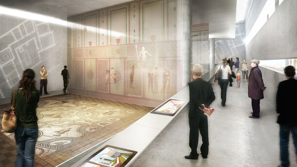Musée de la romanité à Nimes
