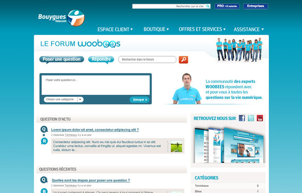 Bouygues Telecom Forum Woobees