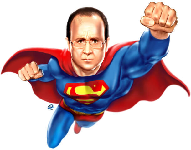 Libé  - Super-Hollande