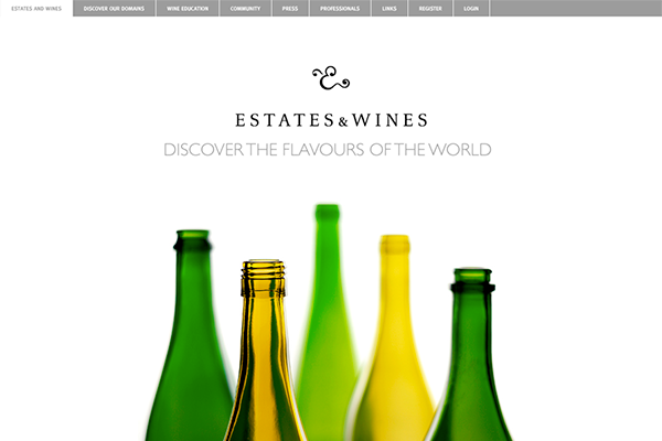 Estates and Wines