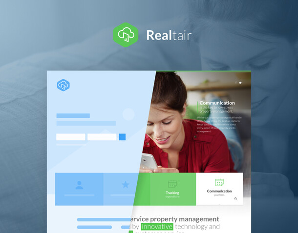 Realtair Ui design