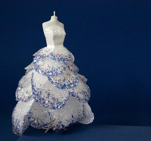 Glitter Dior Dress