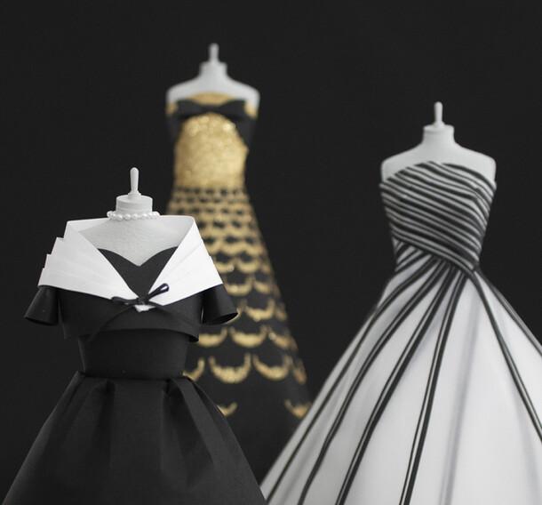 Black & White Dior Dresses