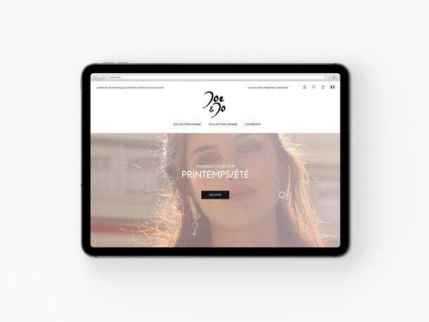 Joe and Jo online shop
