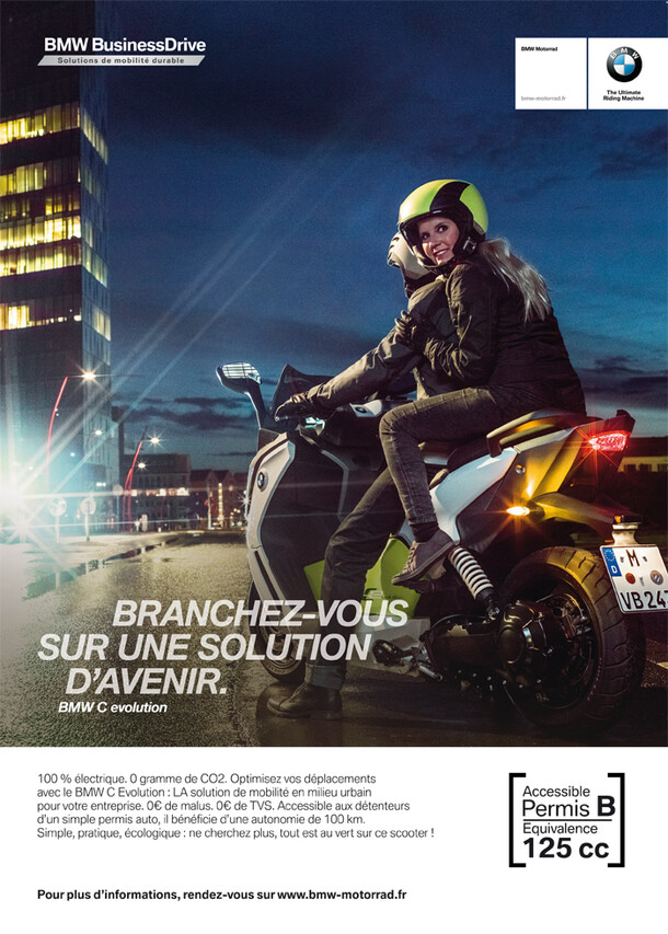 BMW C Evolution professional solutions