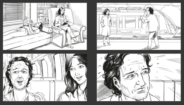 Storyboard SNCF