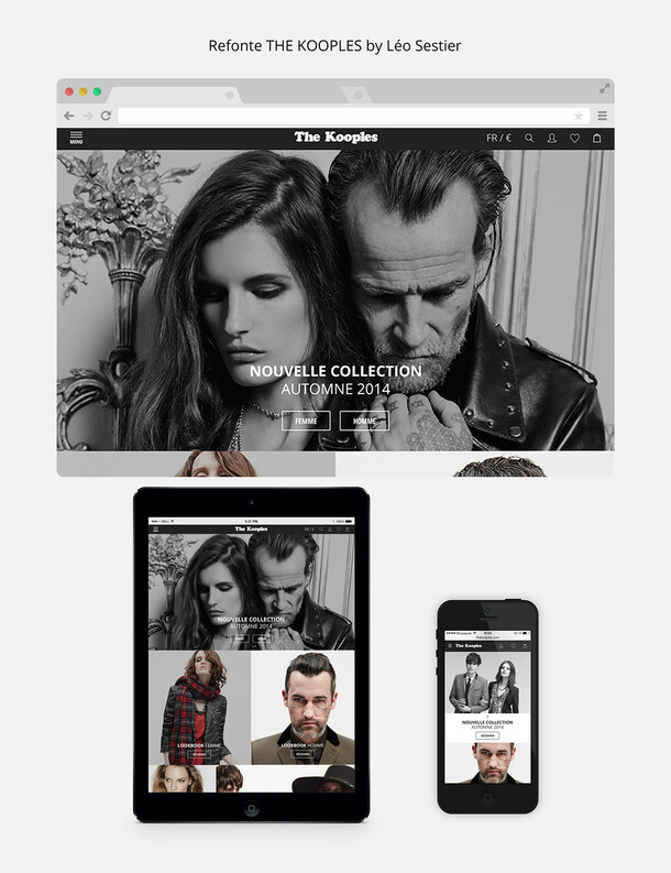 The Kooples - Redesign appel d'offre